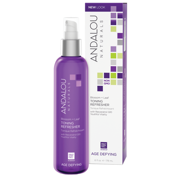 Andalou Naturals Blossom + Leaf Toning Refresher - 6 fl oz. - Health As It Ought to Be