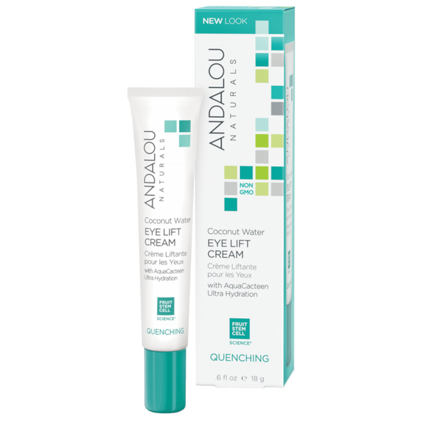 Andalou Naturals Coconut Water Eye Lift Cream - .6 fl oz. - Health As It Ought to Be