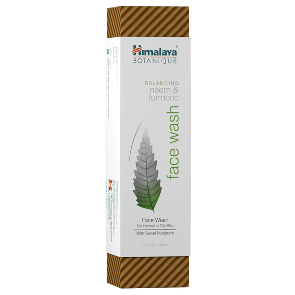 Himalaya Herbal Healthcare Neem and Turmeric Face Wash - Health As It Ought to Be