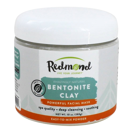 Redmond Trading Bentonite Clay Facial Mask (and Supplement), 10 Ounce - Health As It Ought to Be