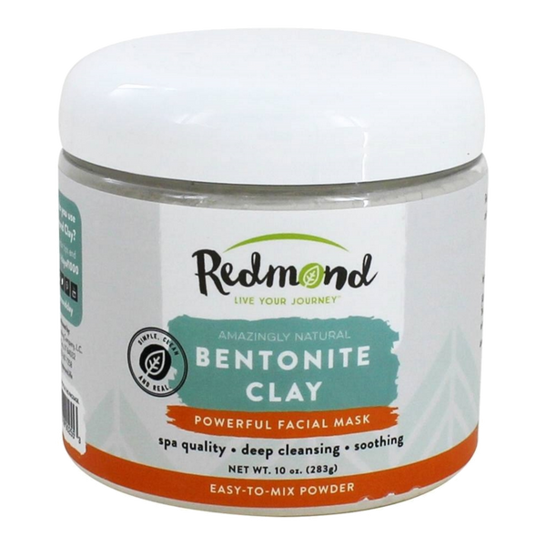 Redmond Trading Bentonite Clay Facial Mask, 10 Ounce
