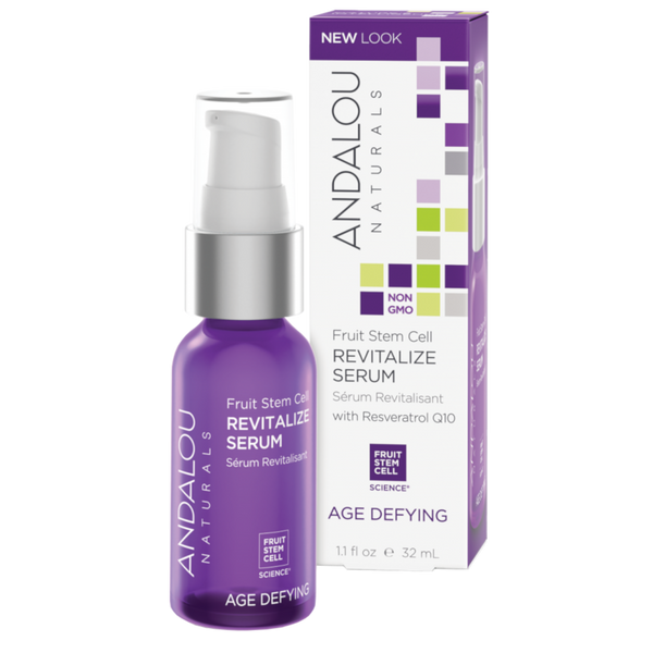 Andalou Naturals Fruit Stem Cell Revitalize Serum - 1.1 fl oz. - Health As It Ought to Be