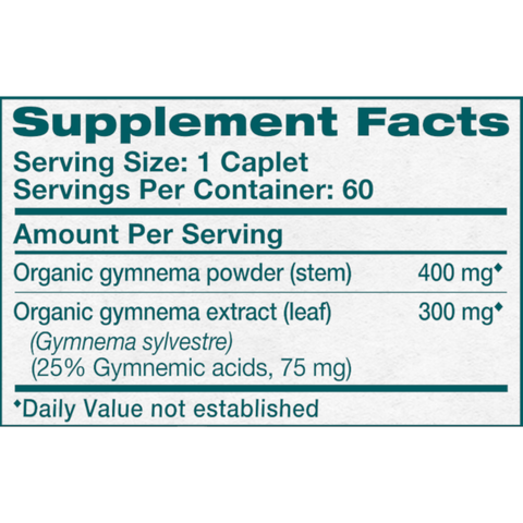 Himalaya Herbal Healthcare Gymnema - 60 Caplets - Health As It Ought to Be