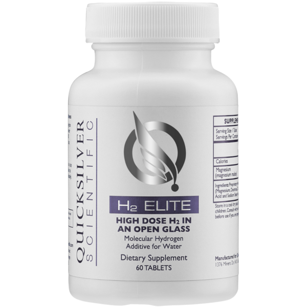 Quicksilver Scientific H2 Elite™ - 60 Tablets - Health As It Ought to Be