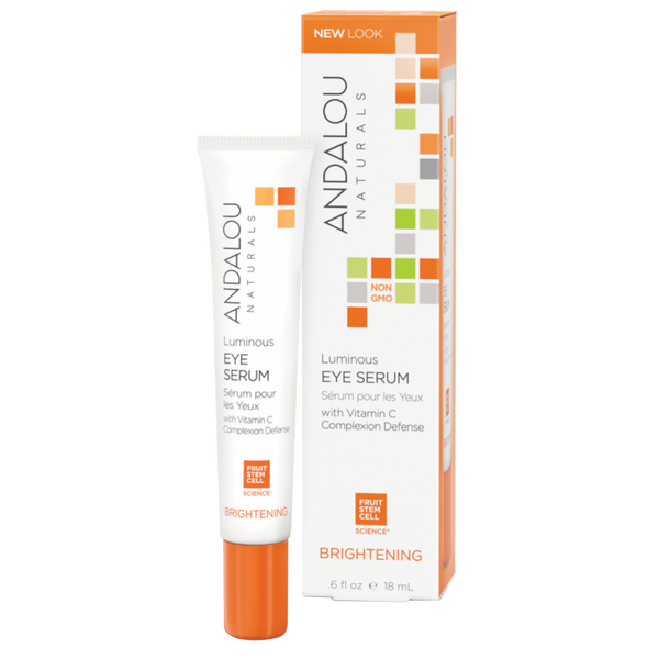 Andalou Naturals Luminous Eye Serum - .6 fl oz. - Health As It Ought to Be
