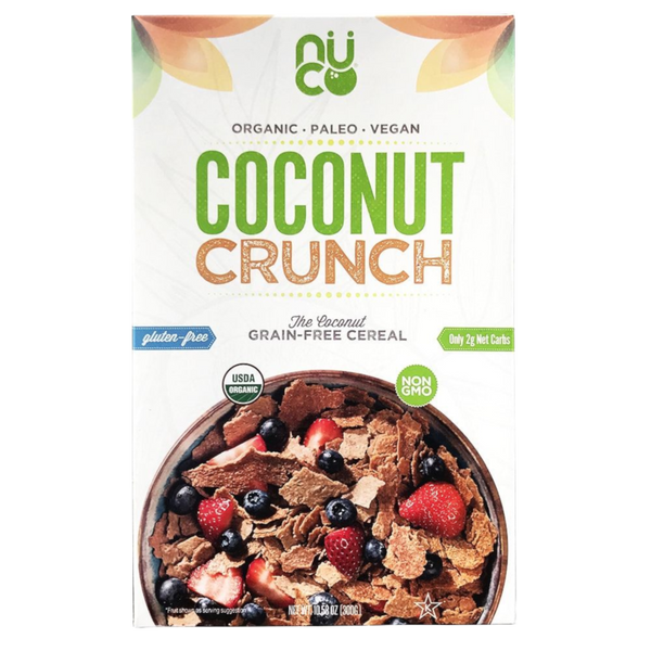 Nuco Coconut Crunch - 300 g - Health As It Ought to Be