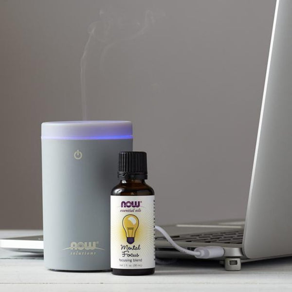 Now Foods Portable USB Ultrasonic Oil Diffuser - Health As It Ought to Be