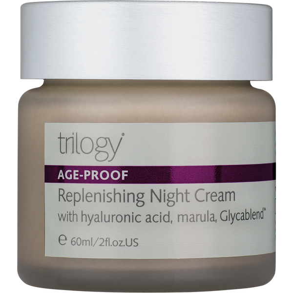 Trilogy Replenishing Night Cream - 2 fl oz. - Health As It Ought to Be