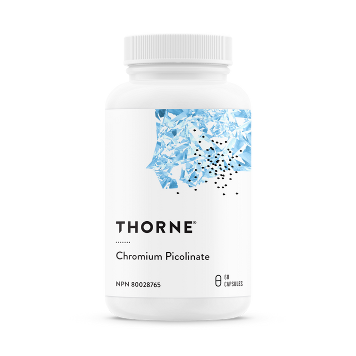 Thorne Chromium Picolinate - 60 Capsules