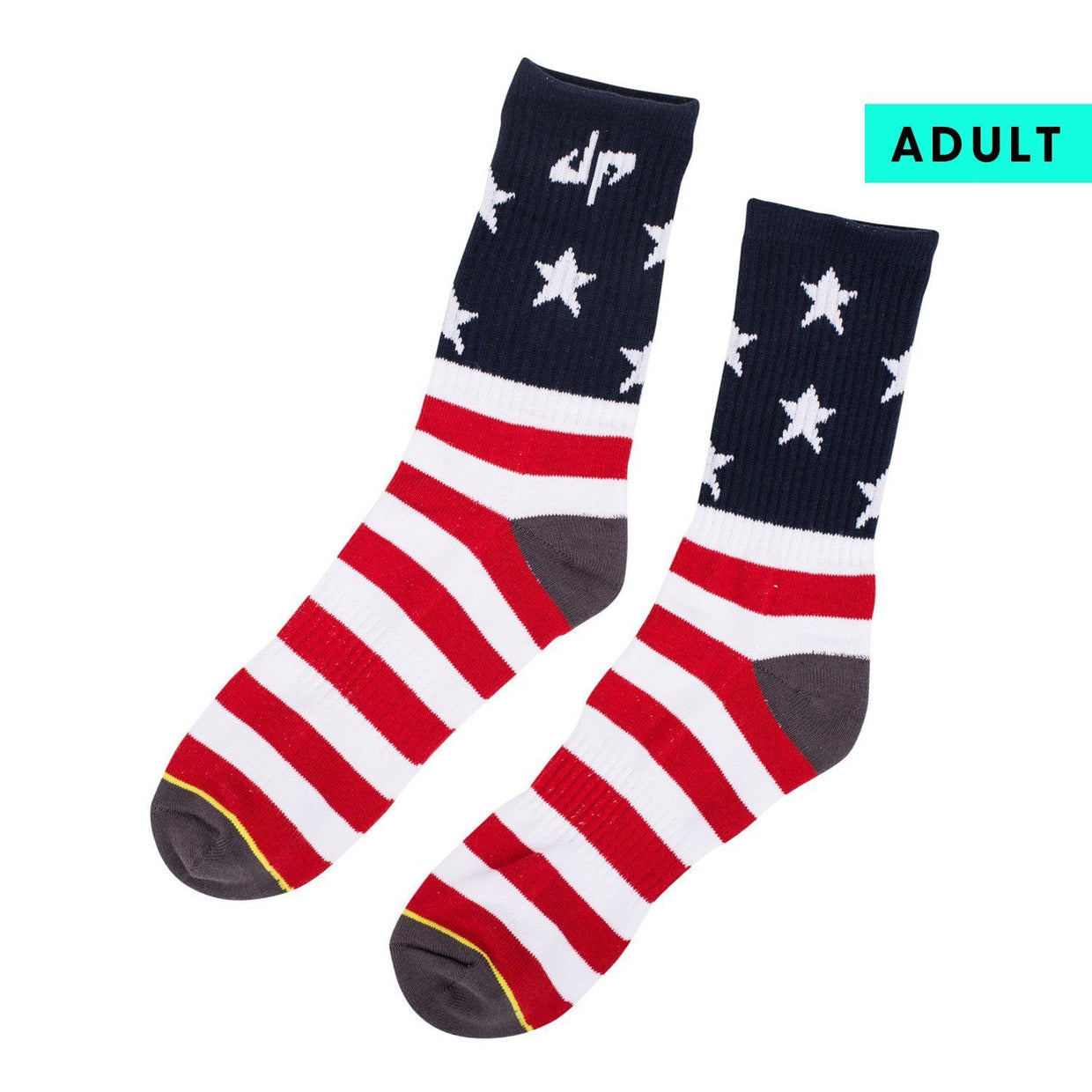 Dude Perfect Stars and Stripes Socks