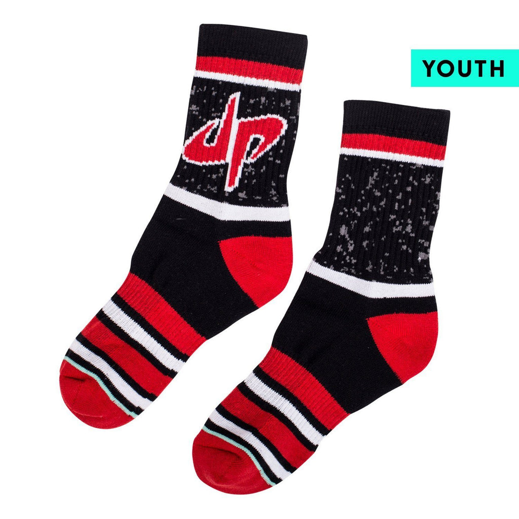 Dude Perfect Youth Splatter Socks