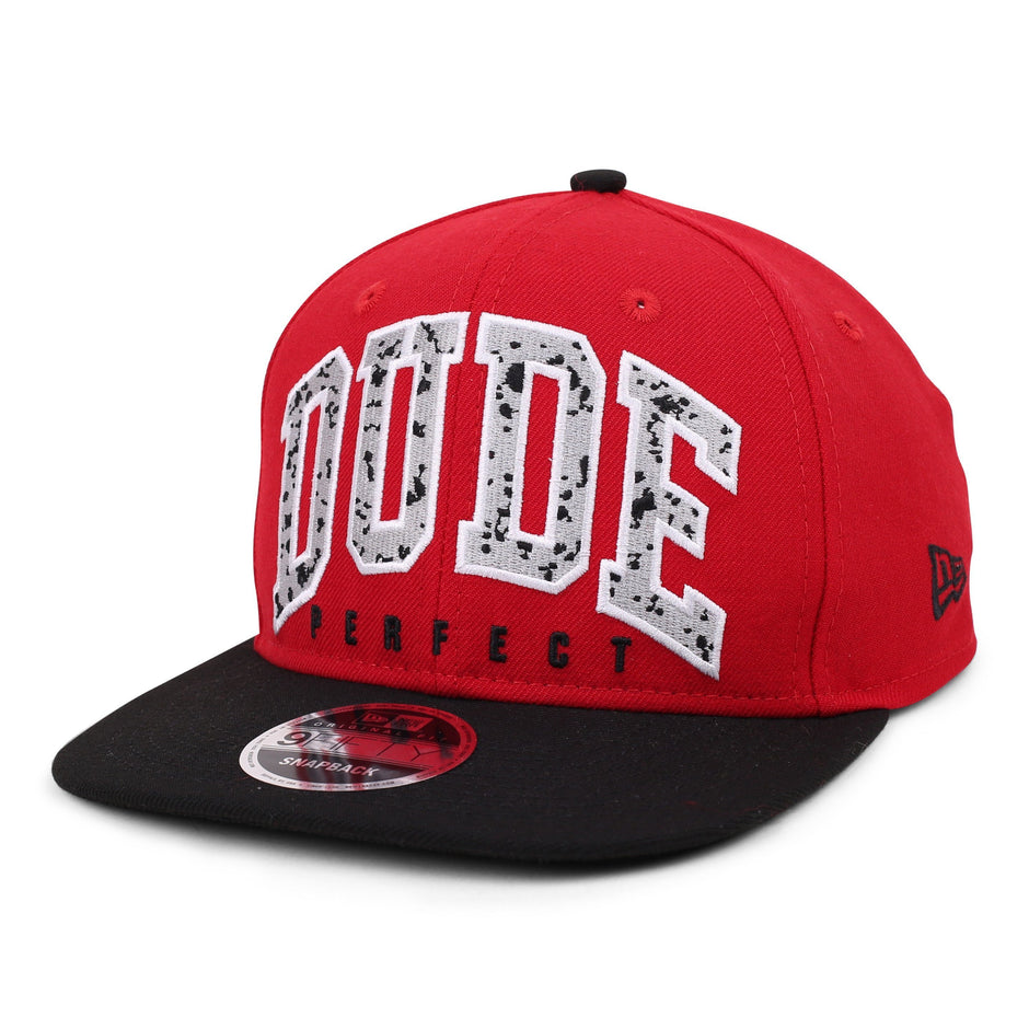 DP Splatter x New Era 9Fifty Snapback // Red + Black