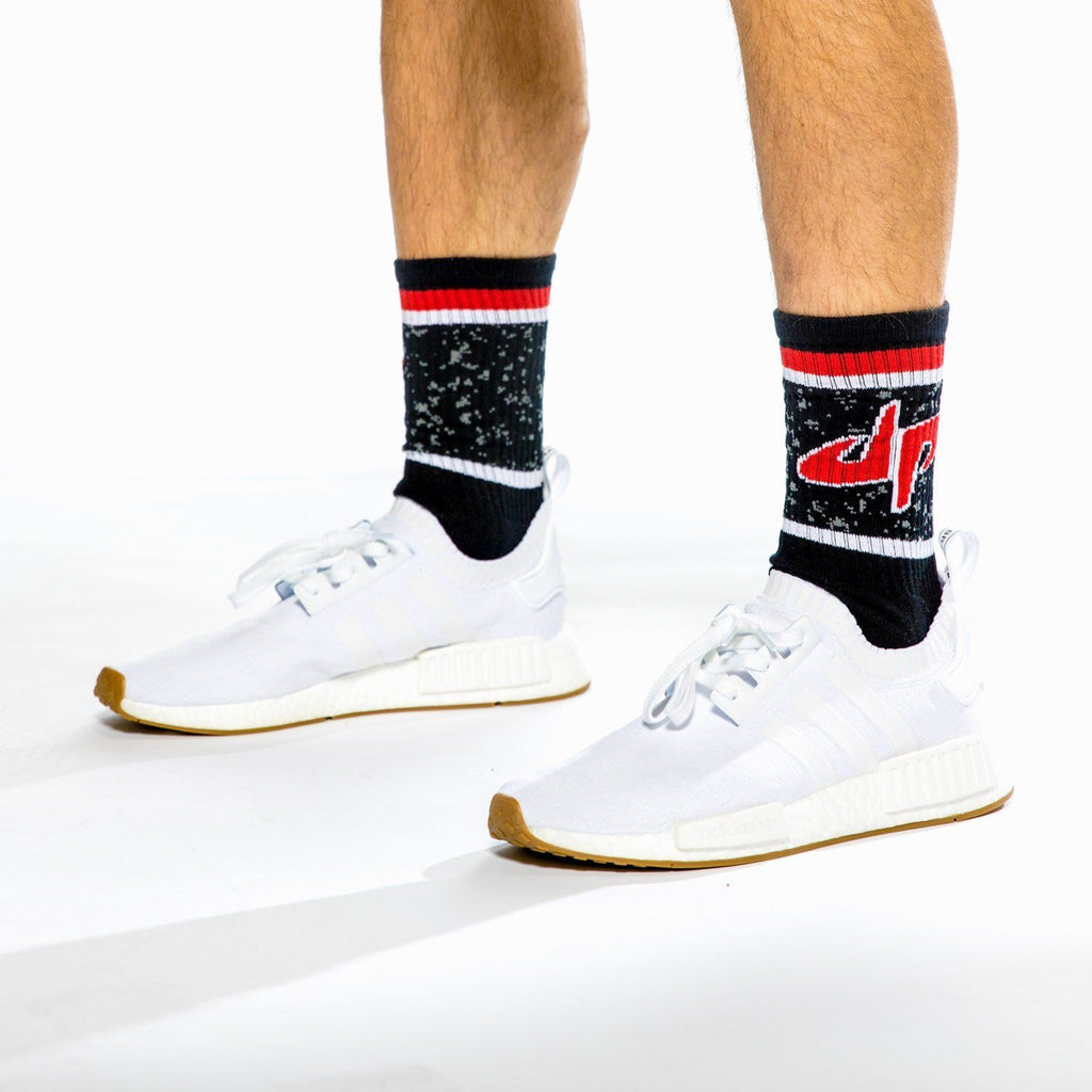 Dude Perfect Splatter Socks