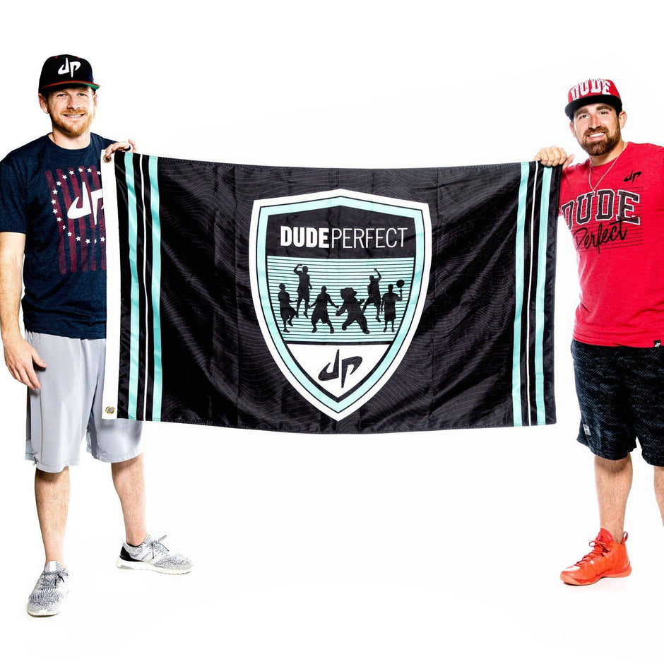 Dude Perfect Crest Flag