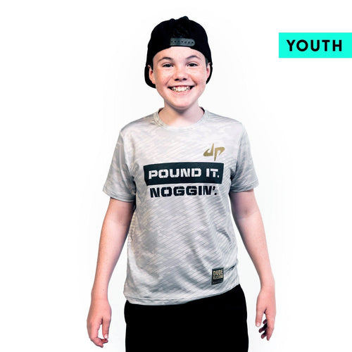 Youth Battles Combat 'Strike' Performance Tee