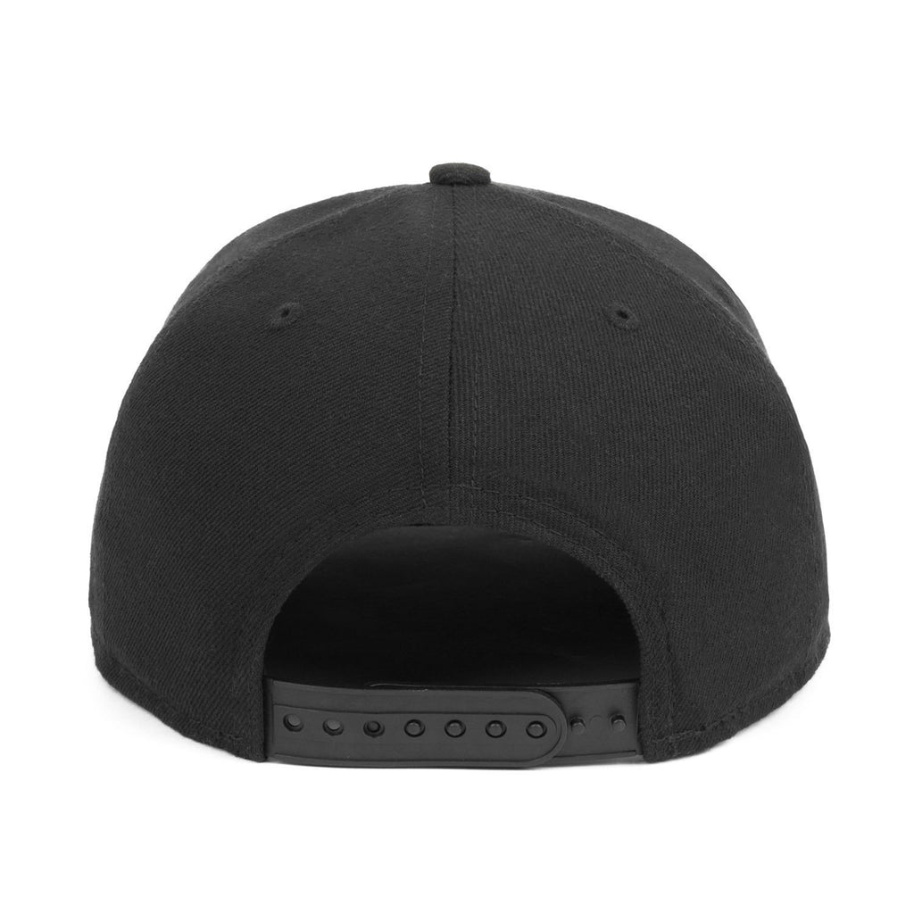 DP x New Era 9Fifty Snapback // Black + Black