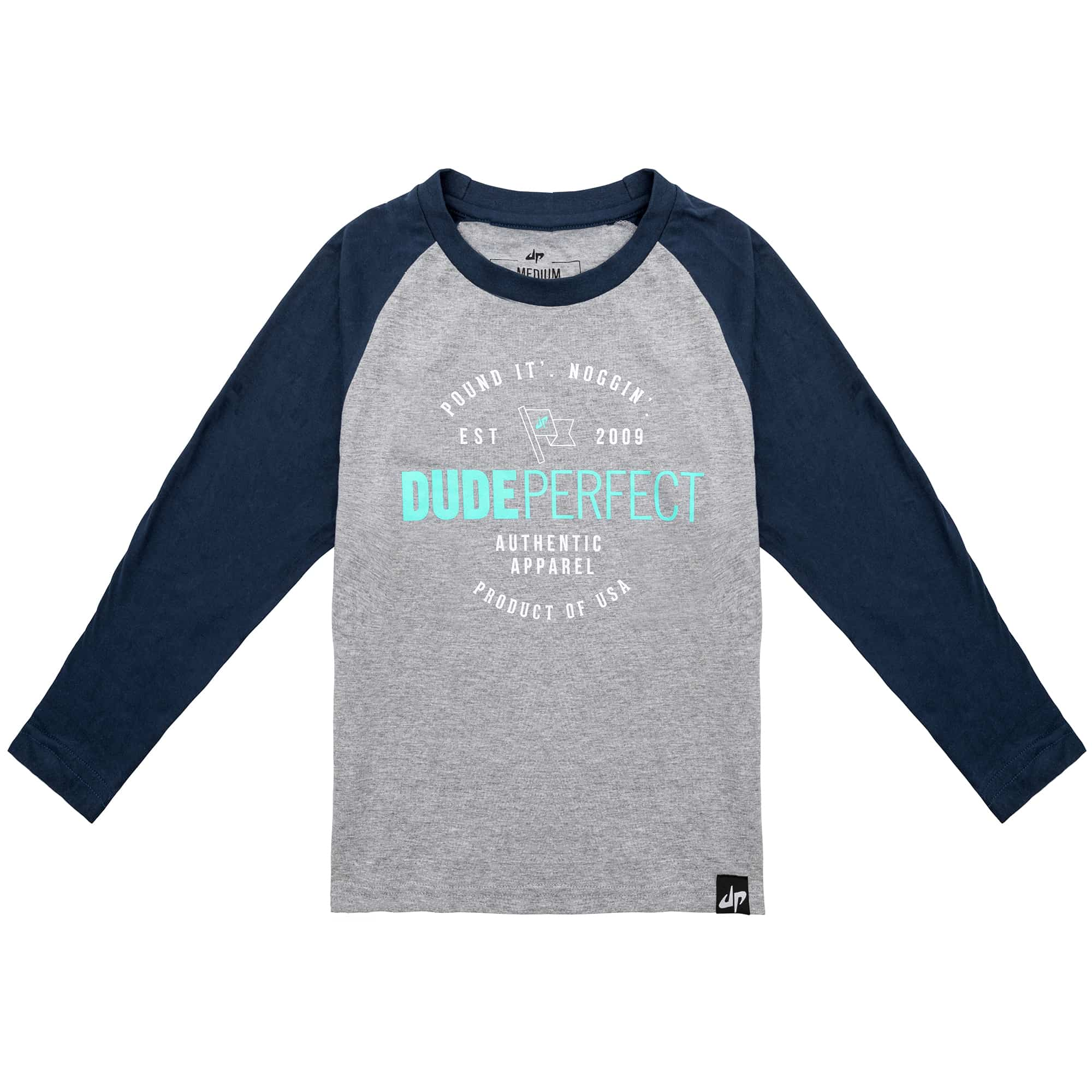Authentic Long Sleeve Raglan T-Shirt