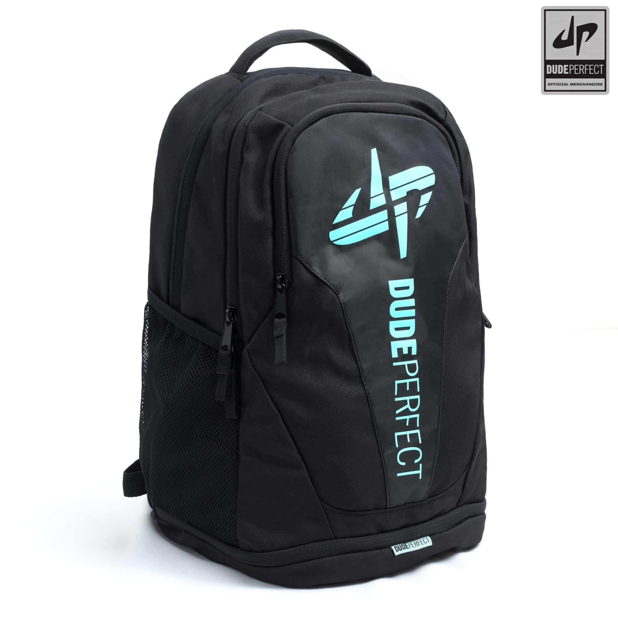 585a632580 Dude Perfect Backpack III - Black + Green