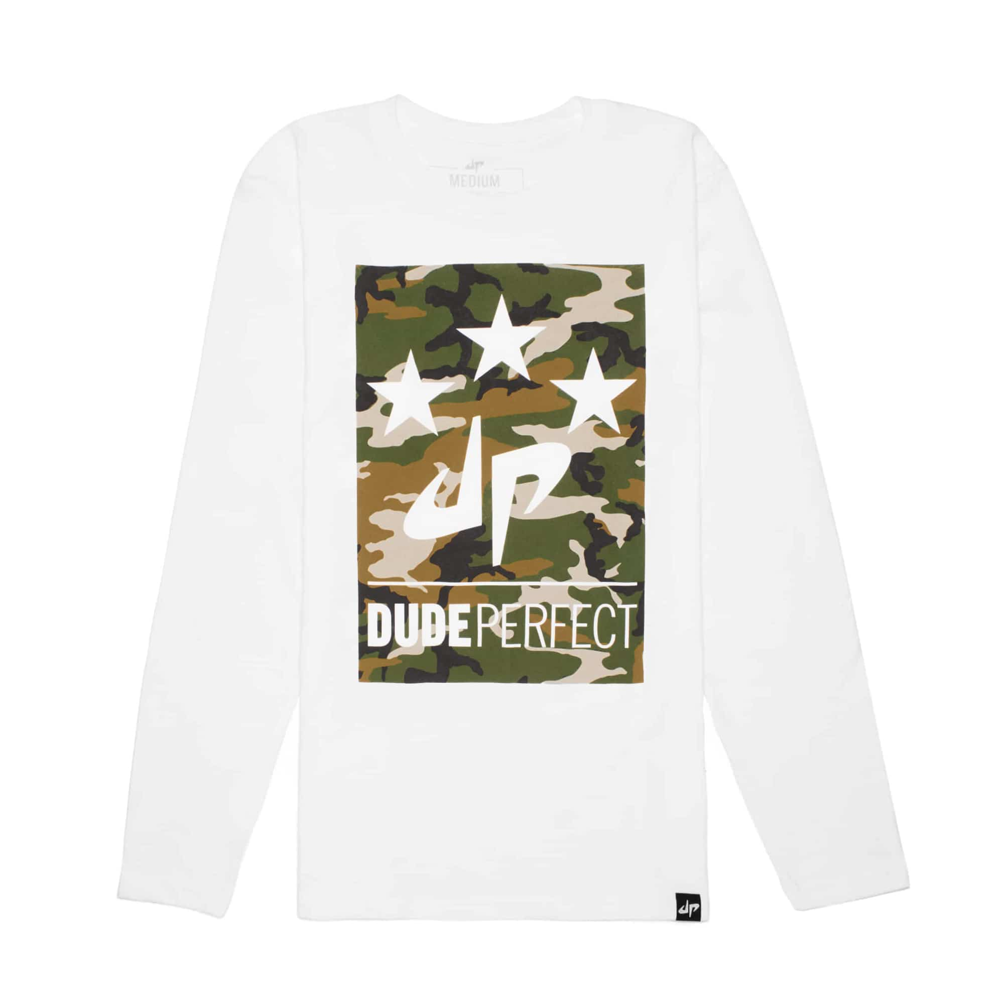 Battles Camo Long Sleeve Tee