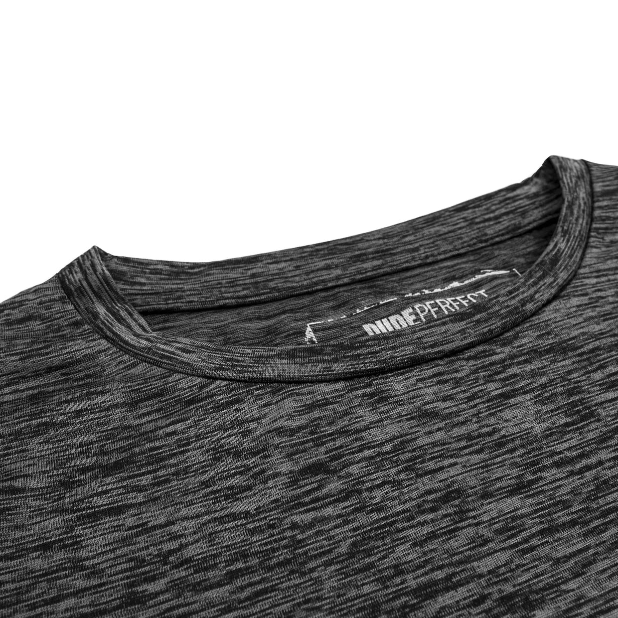 Battles Combat 2 Performance Tee // Charcoal Heather