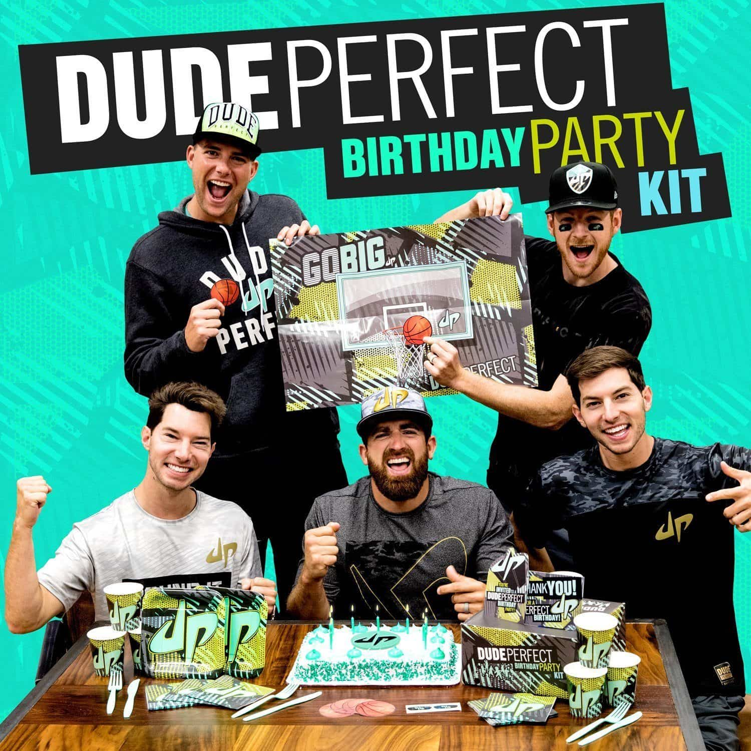 Dude Perfect Birthday Kit