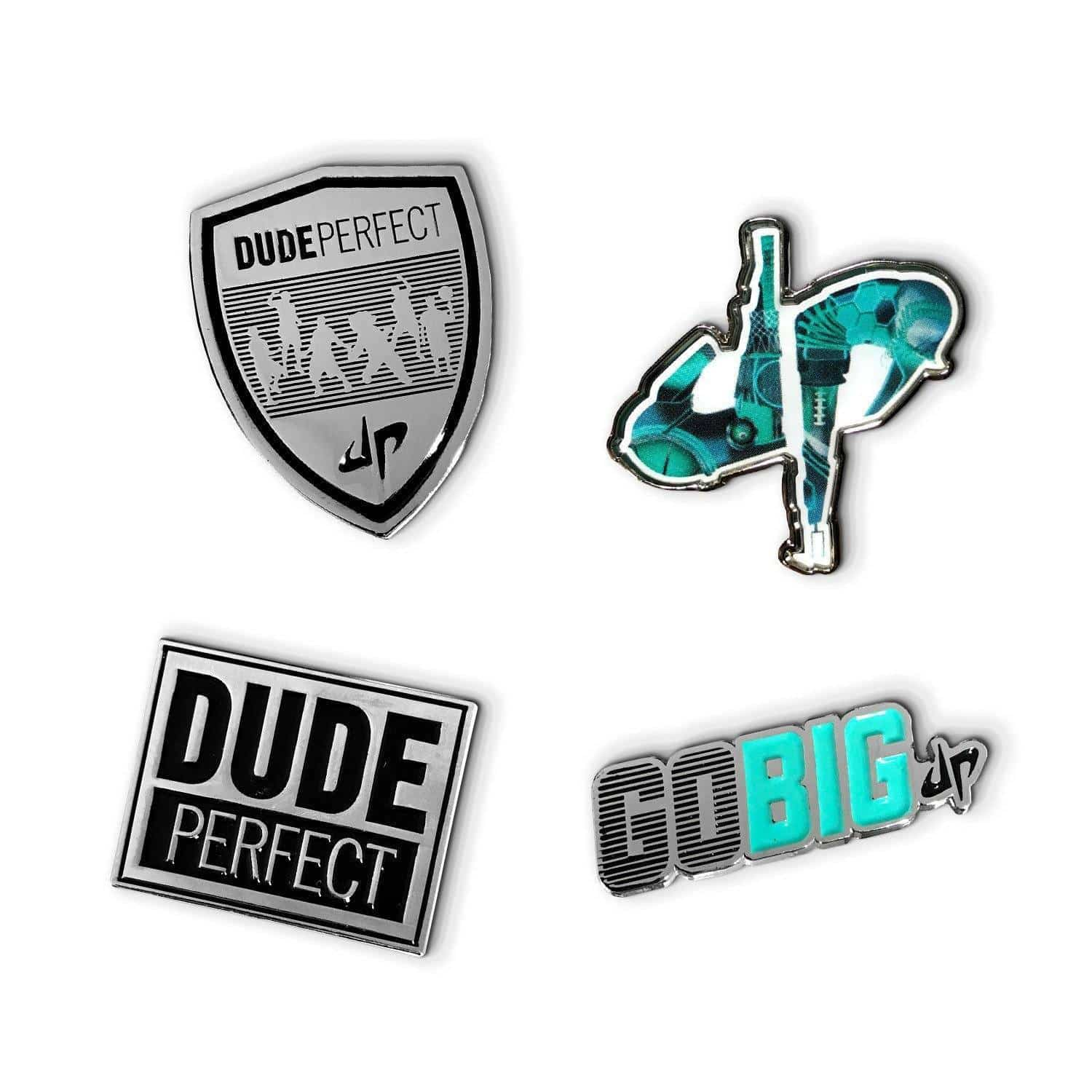 Dude Perfect Collectable Pins