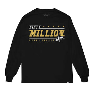 Limited Edition '50 Million Subscriber' Long Sleeve Tee