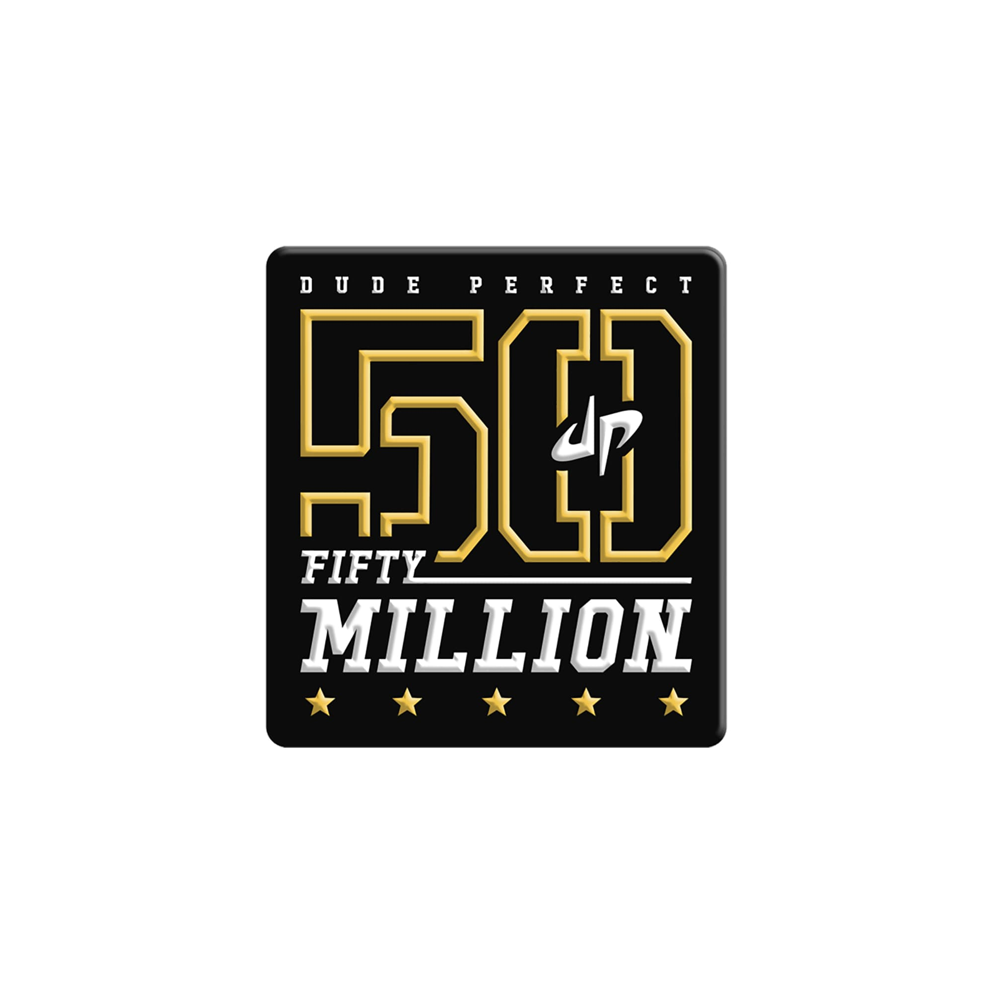 Limited Edition '50 Million Subscriber' 3D Magnet