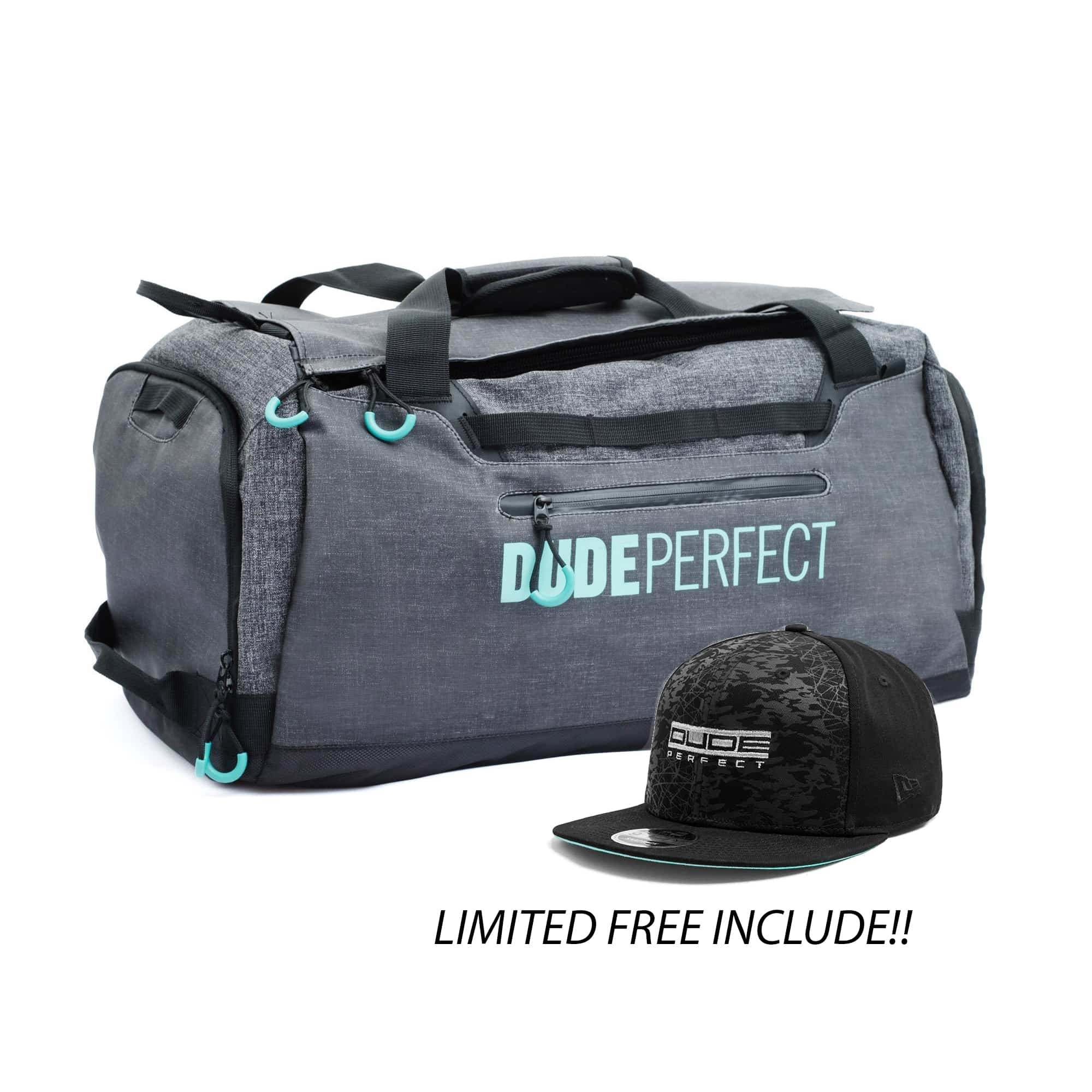 Dude Perfect Rivalry Duffel Bag - Limited Free Include!  cd2cc204f