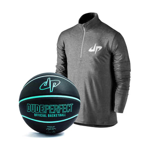 Youth Rivalry Reflective Half Zip Pullover Top II + Basketball - FREE SHIPPING!