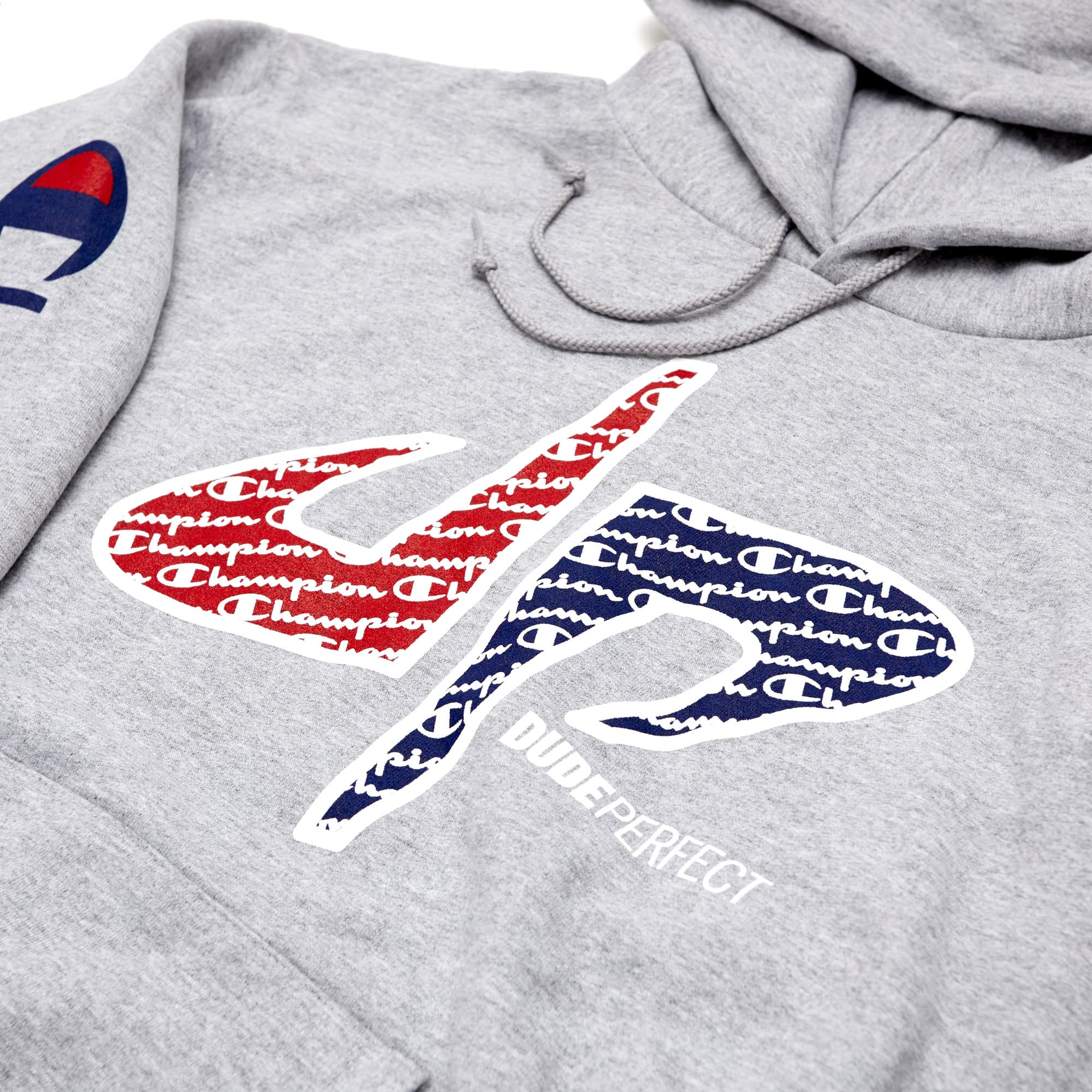 Official Dude Perfect x Champion Collaboration Hoodie - Limited Edition