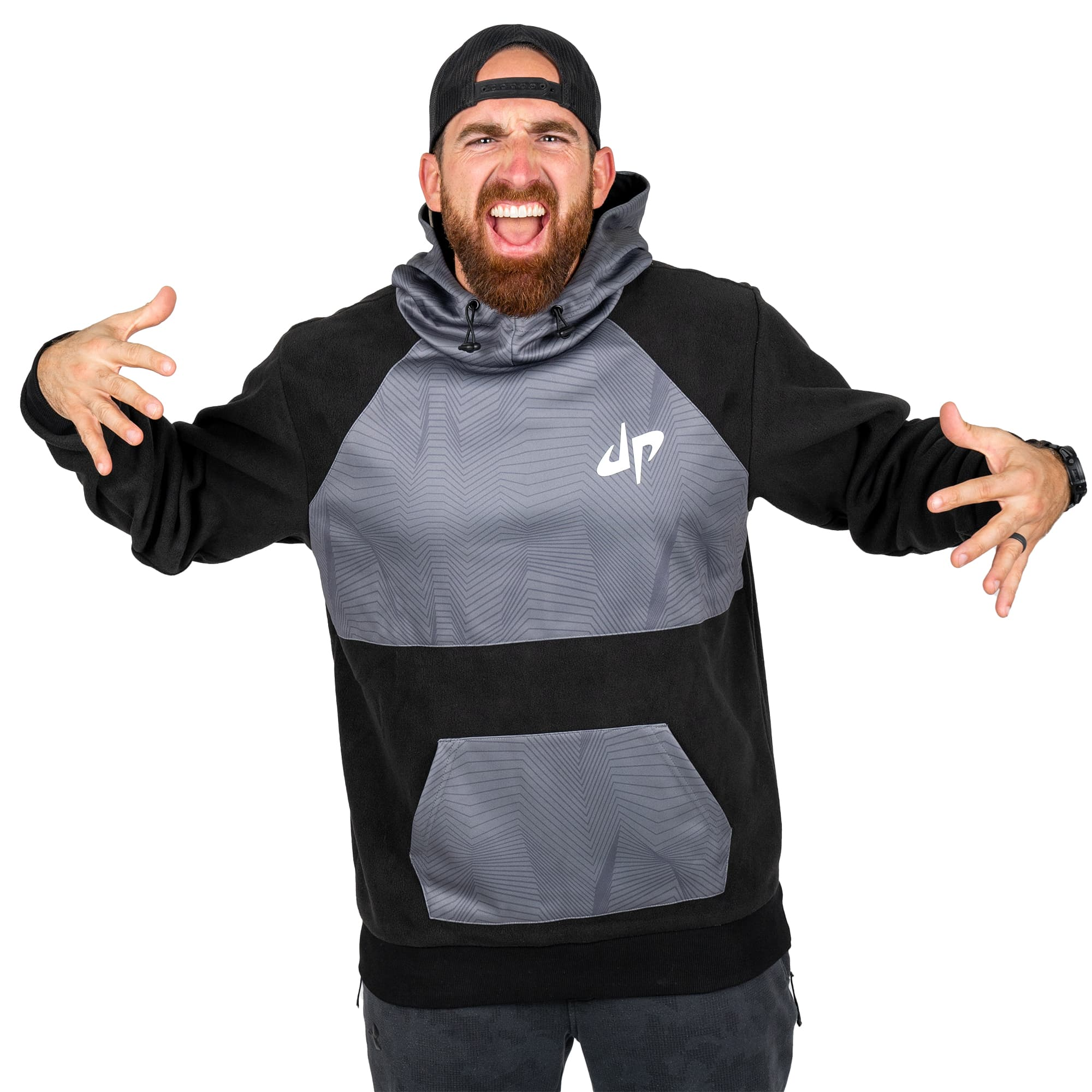 Sonic Strike Reverse-Fleece Performance Hoodie