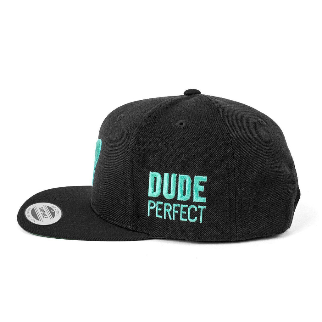 DP Snapback // Black + Green
