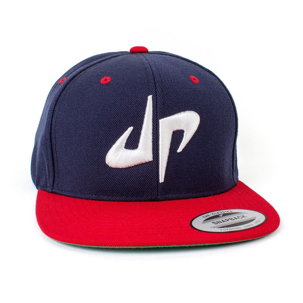 DP Snapback // Red + White + Blue