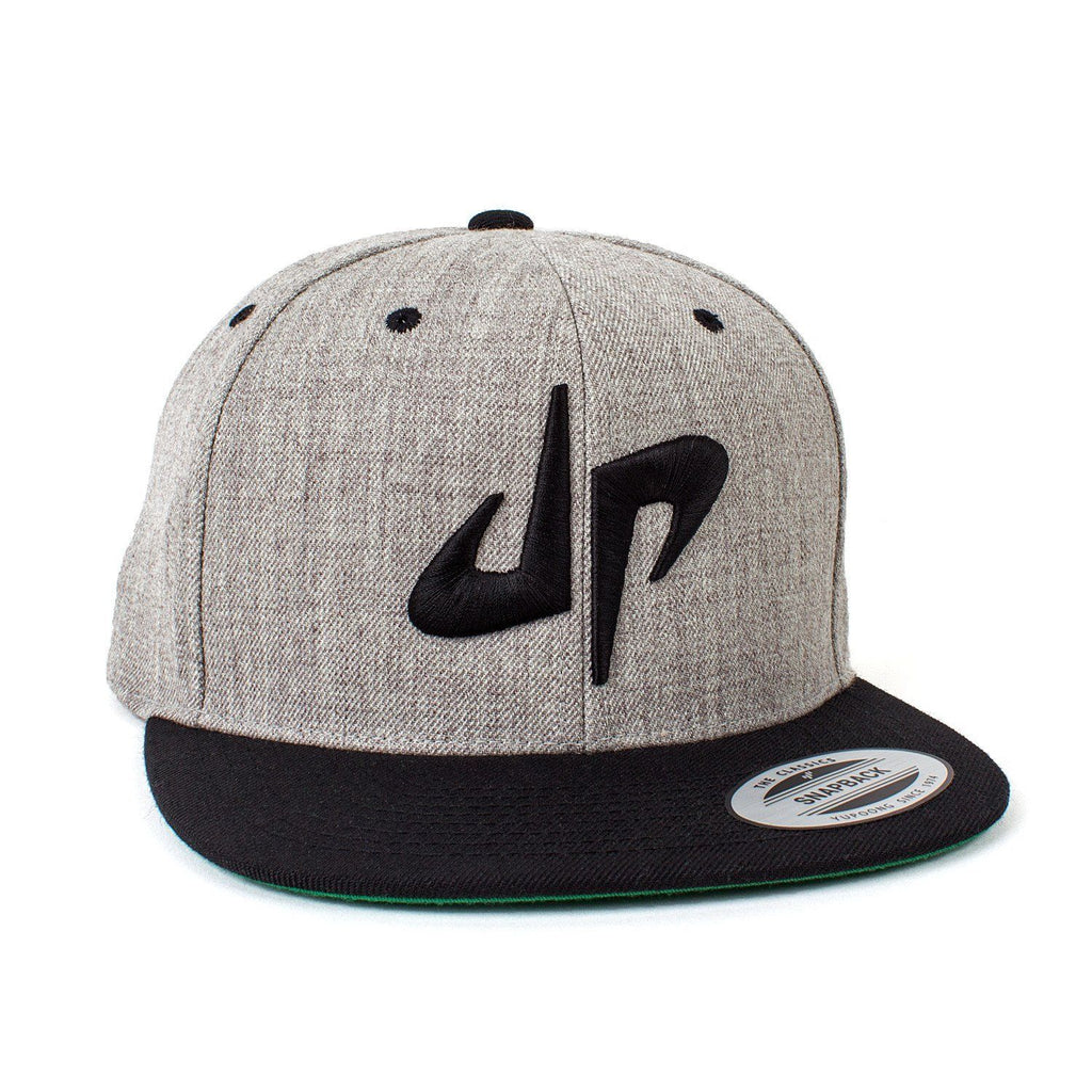 DP Snapback // Gray + Black