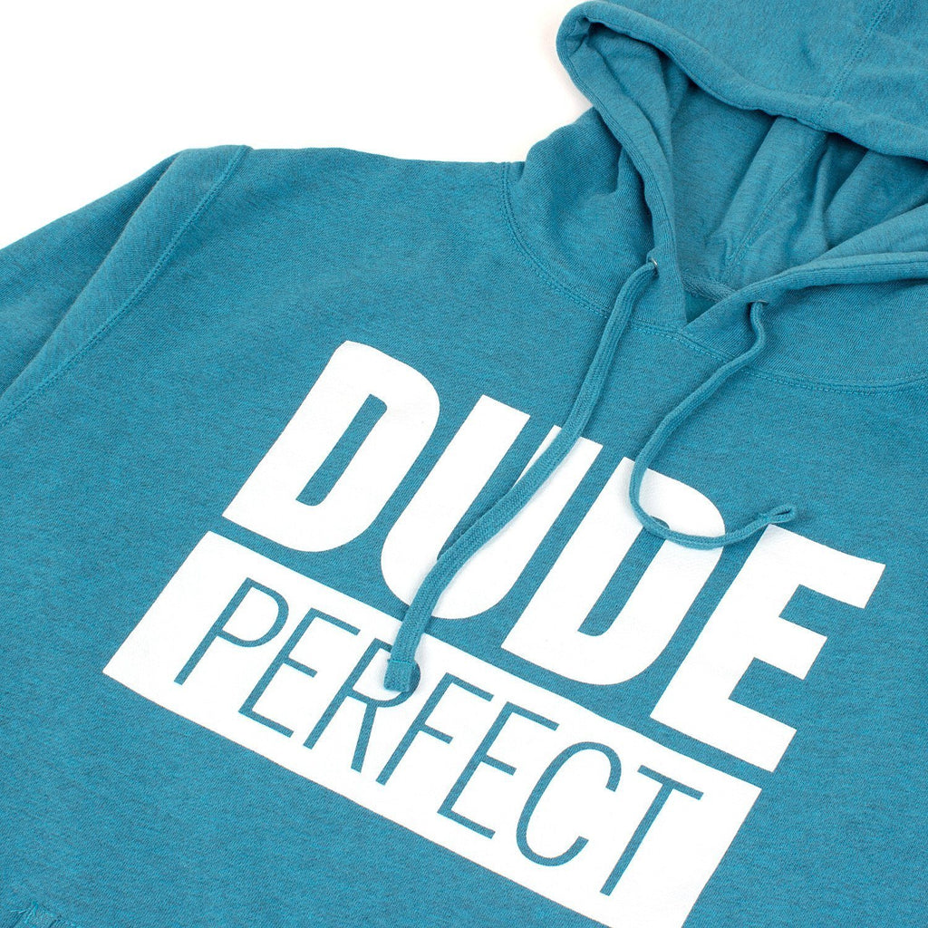 Dude Perfect Hoodie // Turquoise