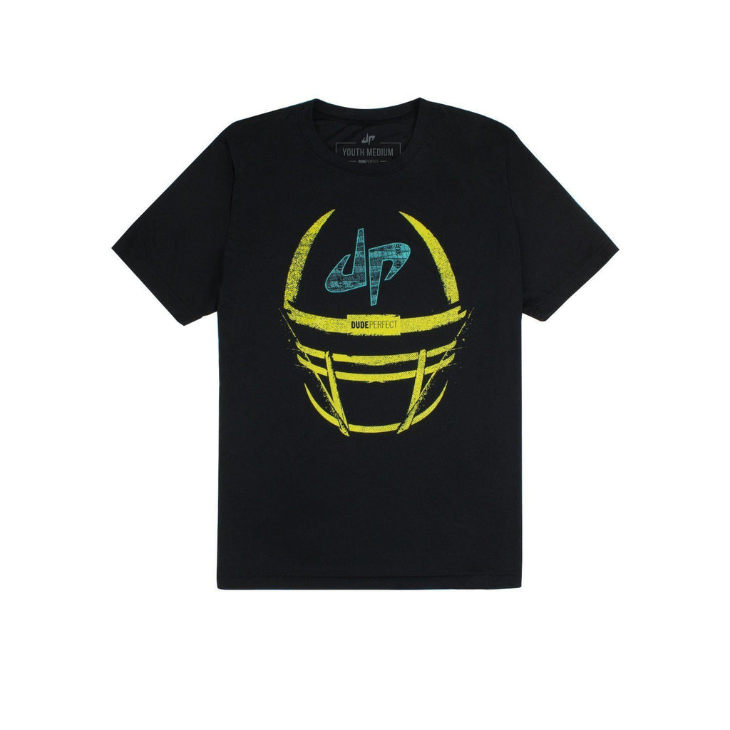Youth Crushing The Gridiron Performance Tee