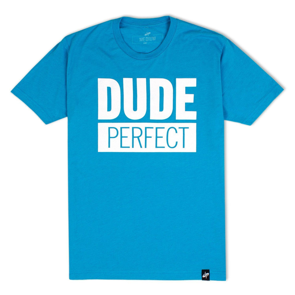 Dude Perfect 'Logo' T-Shirt - Vintage Turquoise