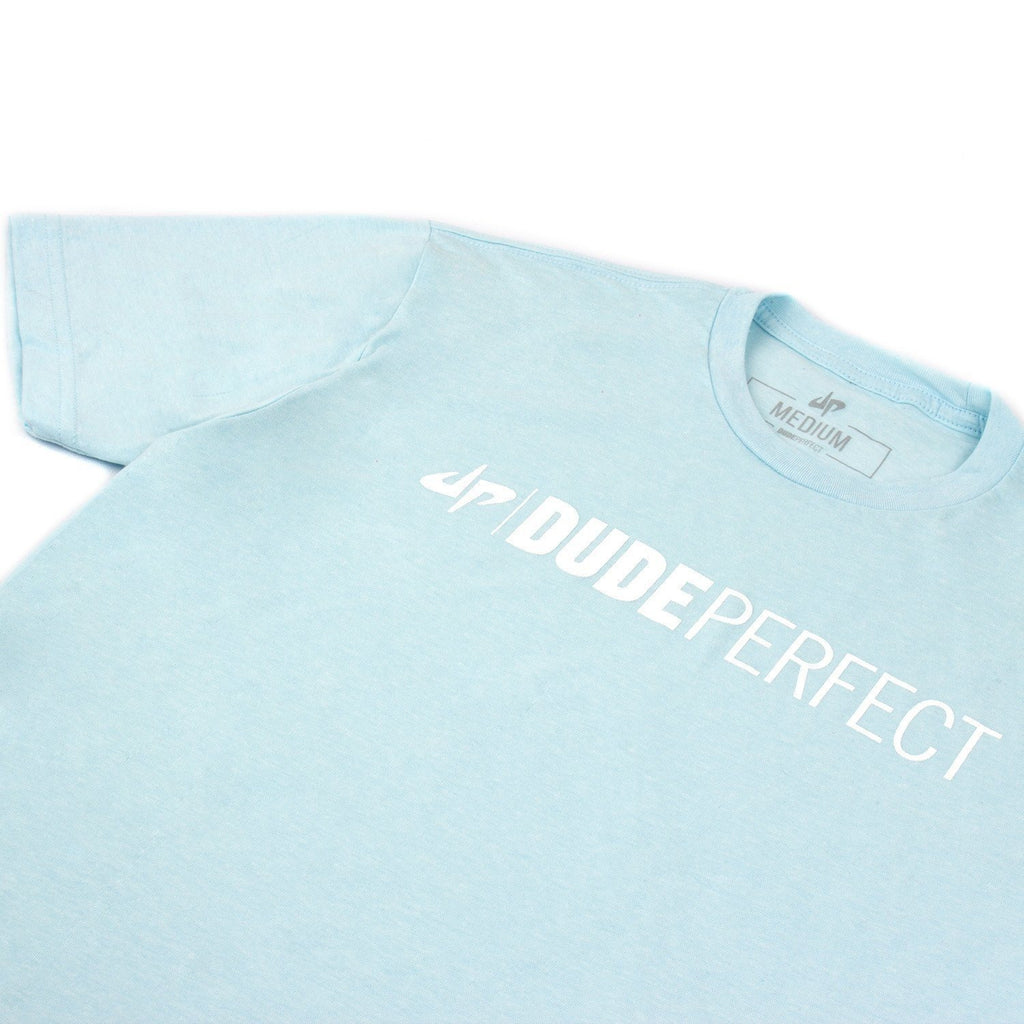 Ice Blue Wordmark Tee