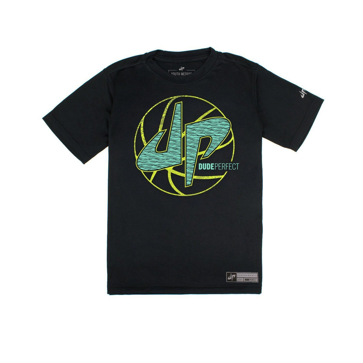 Youth Crushing The Court Performance Tee