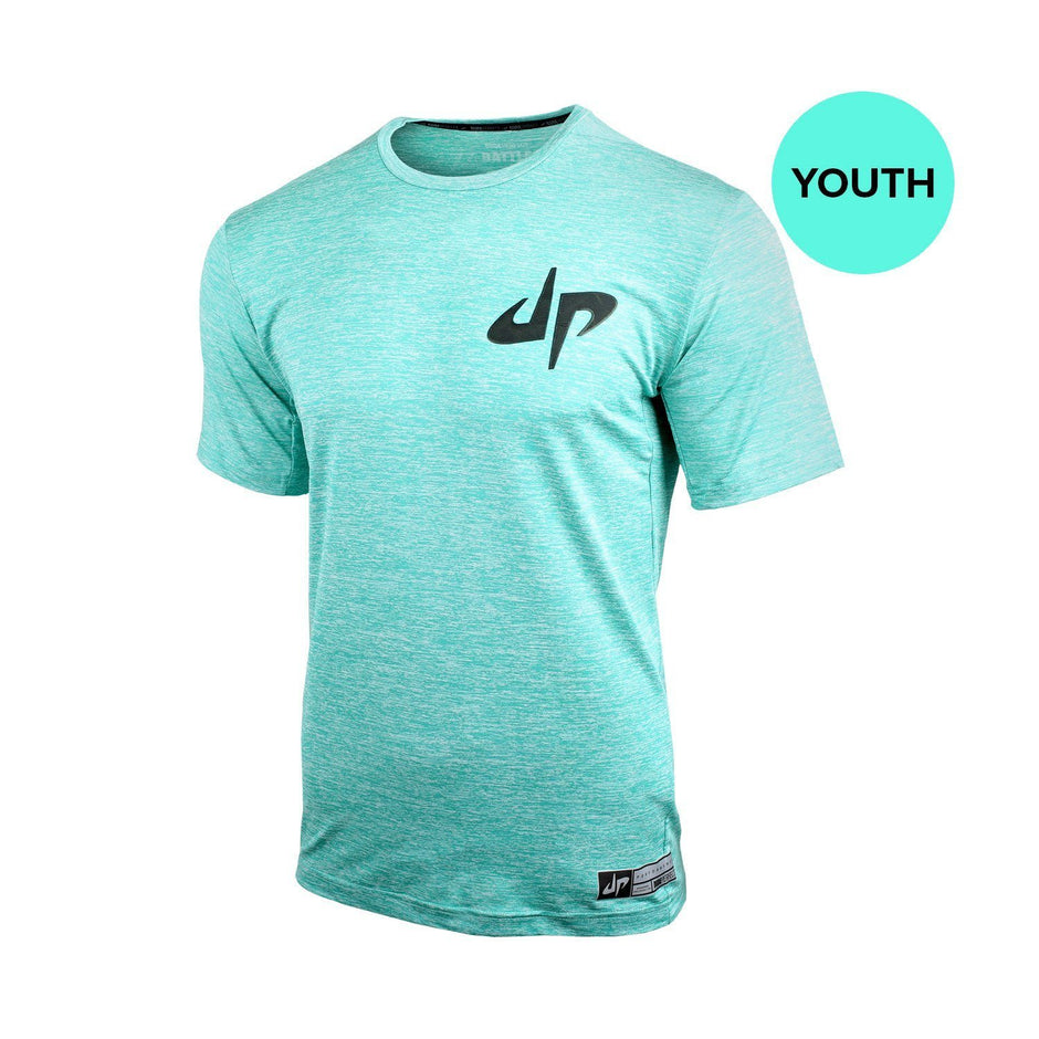 Youth Battles Mint Short Sleeve Spectrum Reflective Performance Tee