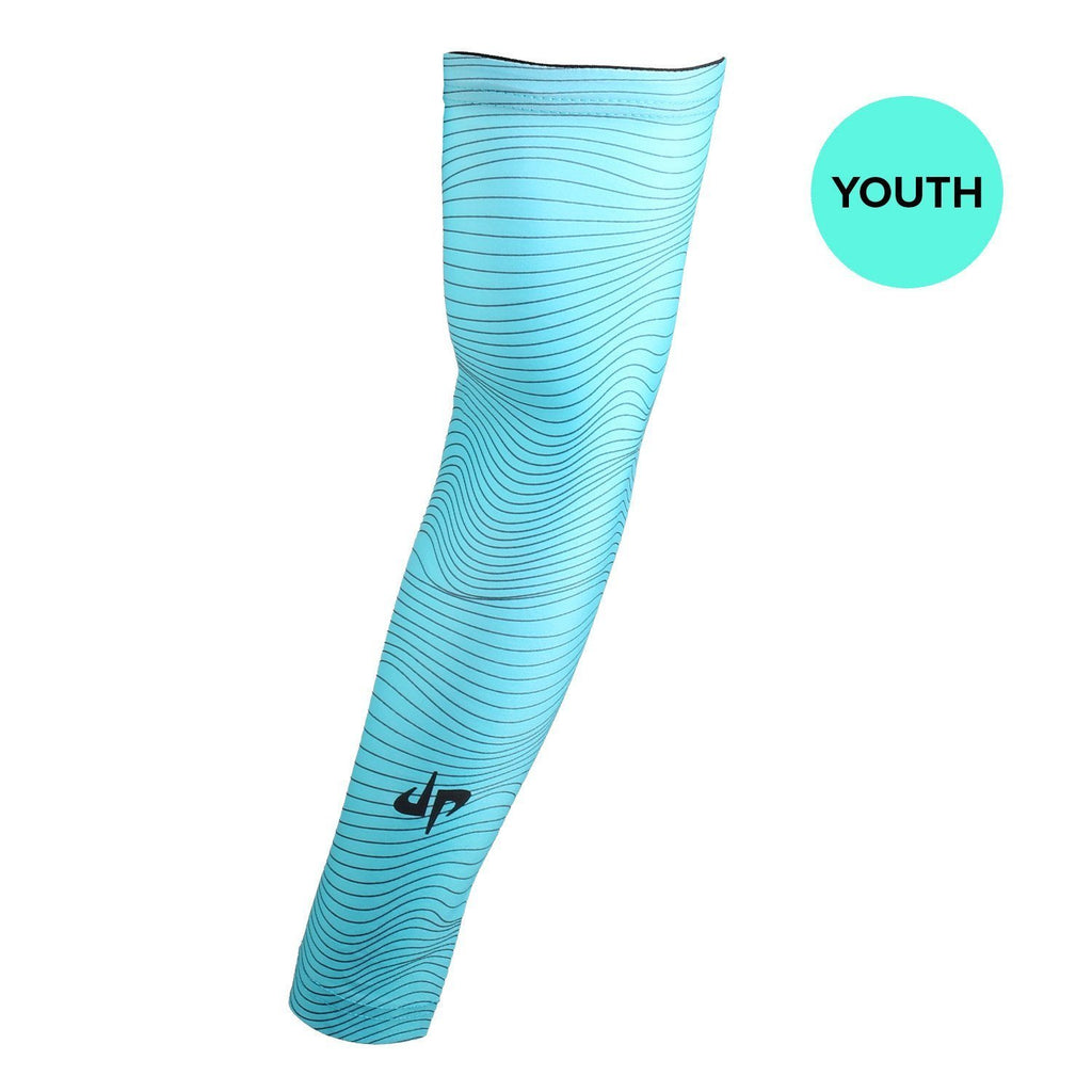 Youth Battles Compression Sleeves - Mint