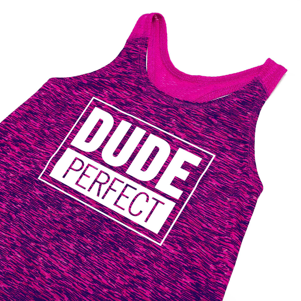 Girls Epic Shot Racerback Tank // Power Purple