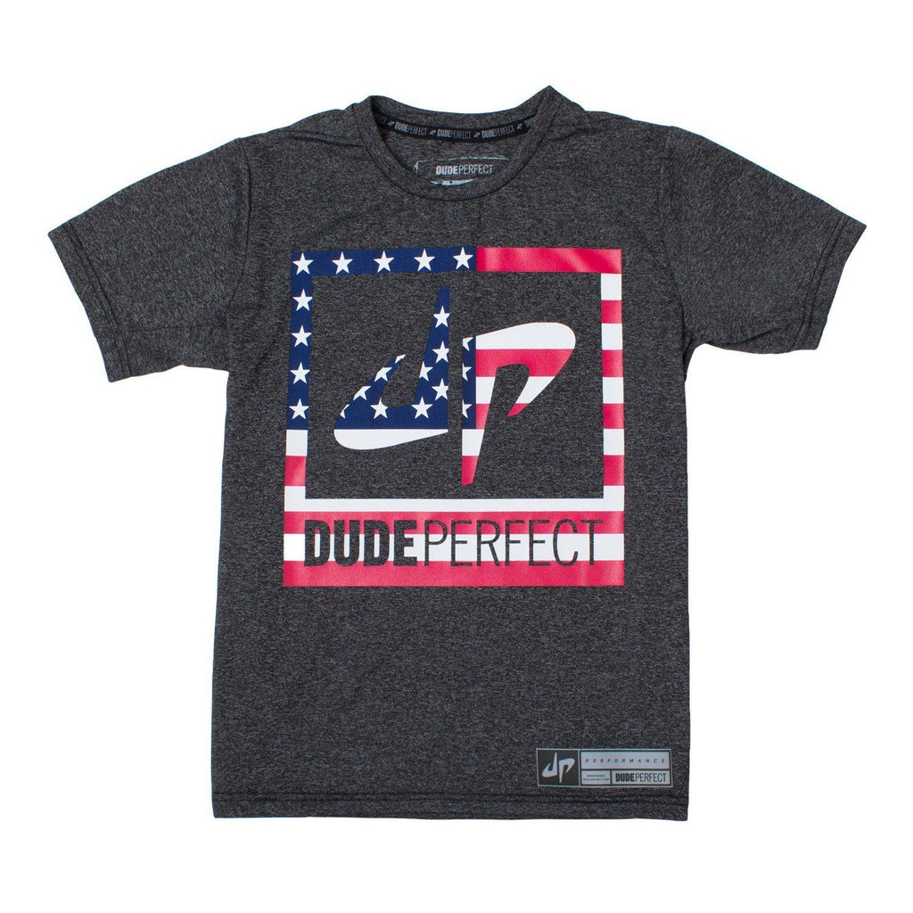 Youth Battles Stars and Stripes Performance Tee