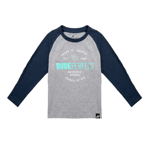 Youth Authentic Long Sleeve Raglan T-Shirt