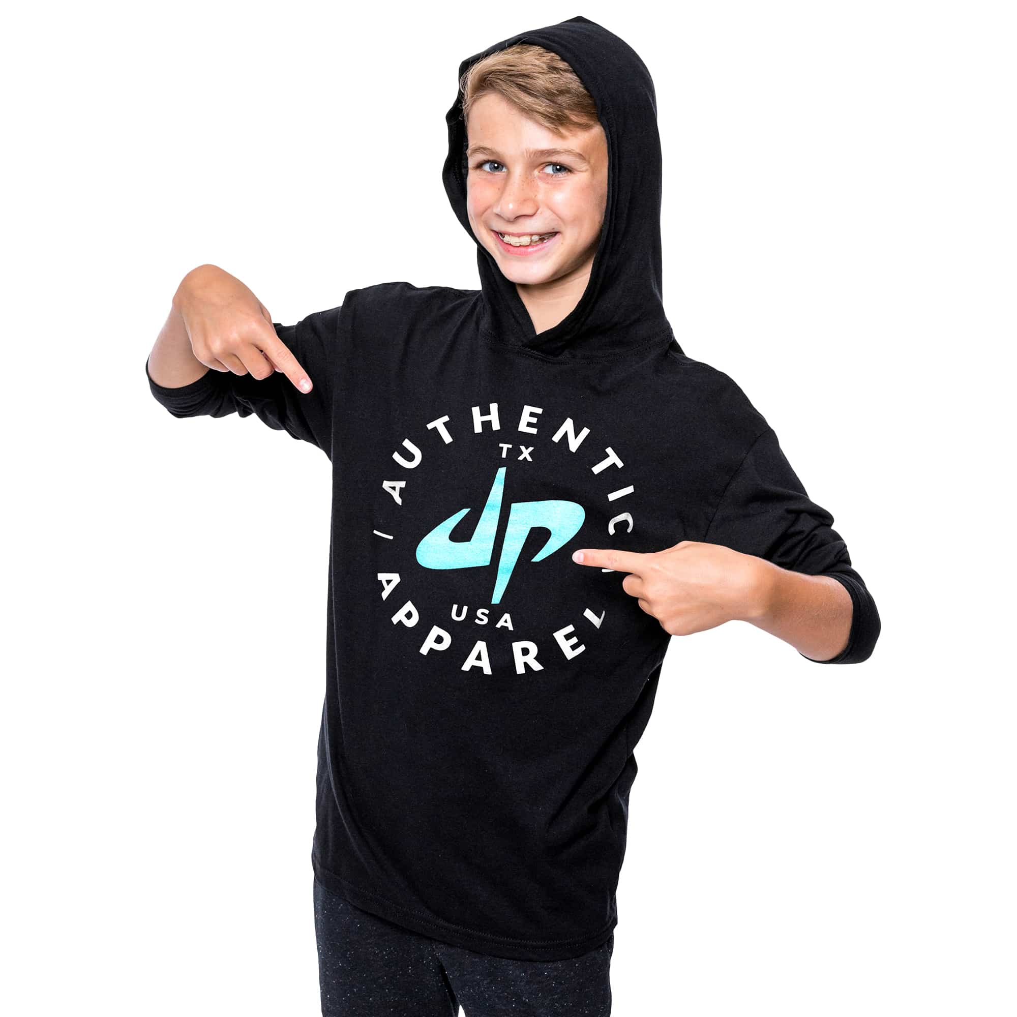 Youth Authentic Lightweight Hoodie