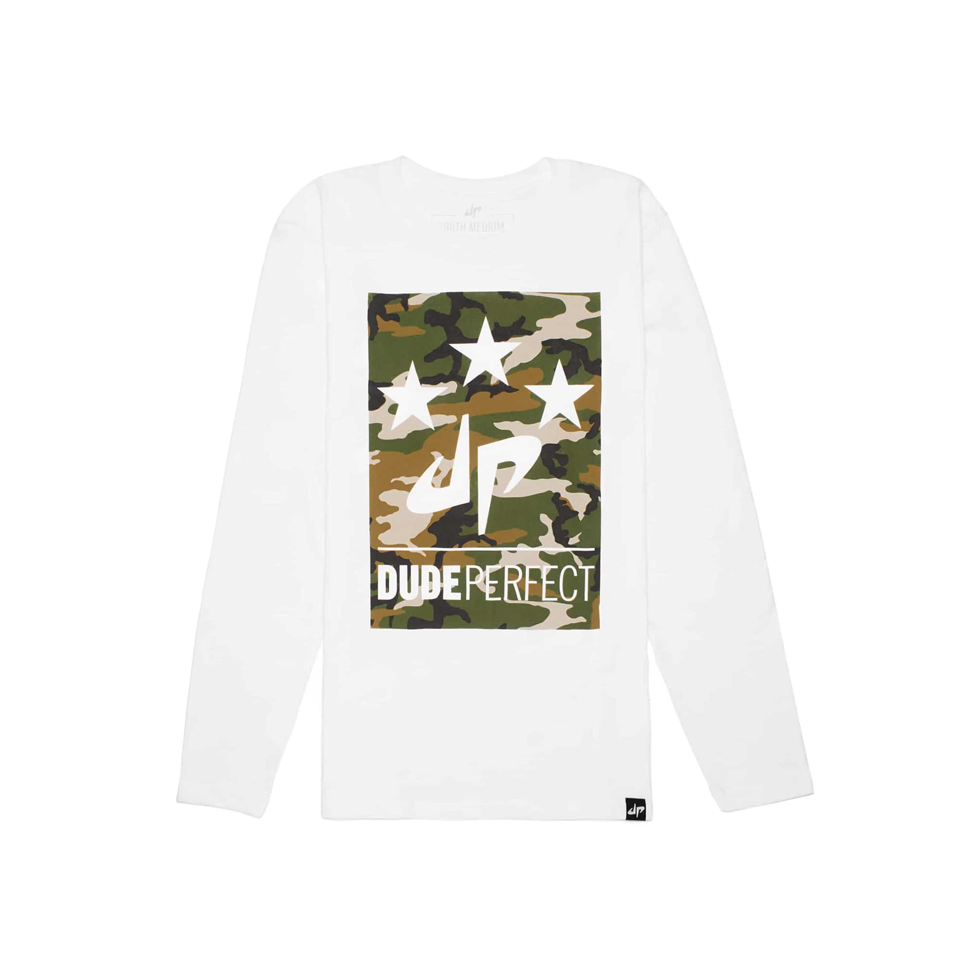 Youth Battles Camo Long Sleeve Tee