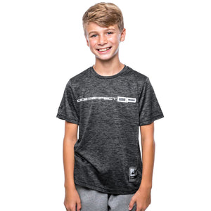 Youth Battles Combat 2 Performance Tee // Charcoal Heather