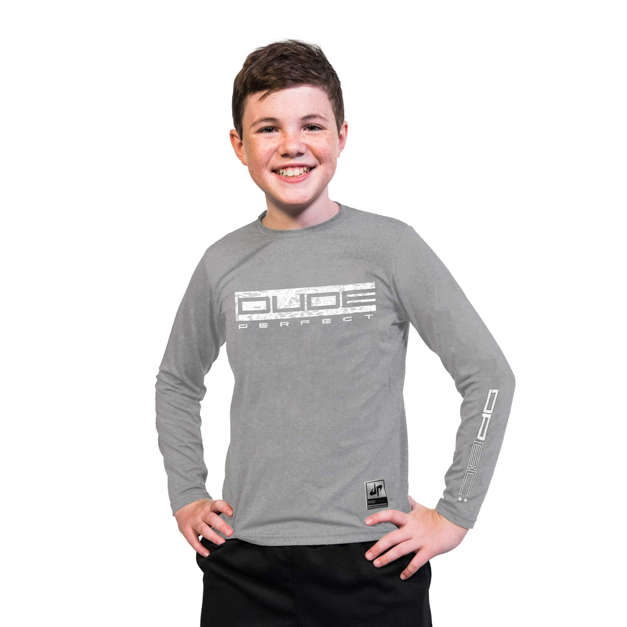 Youth Battles Combat II Performance Long Sleeve Tee