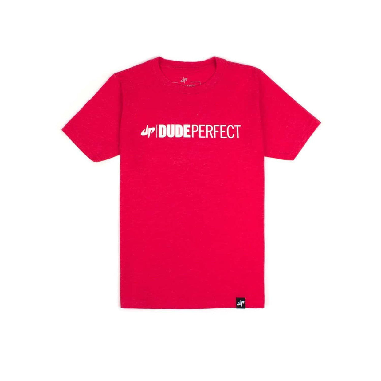 Youth Red Wordmark Tee